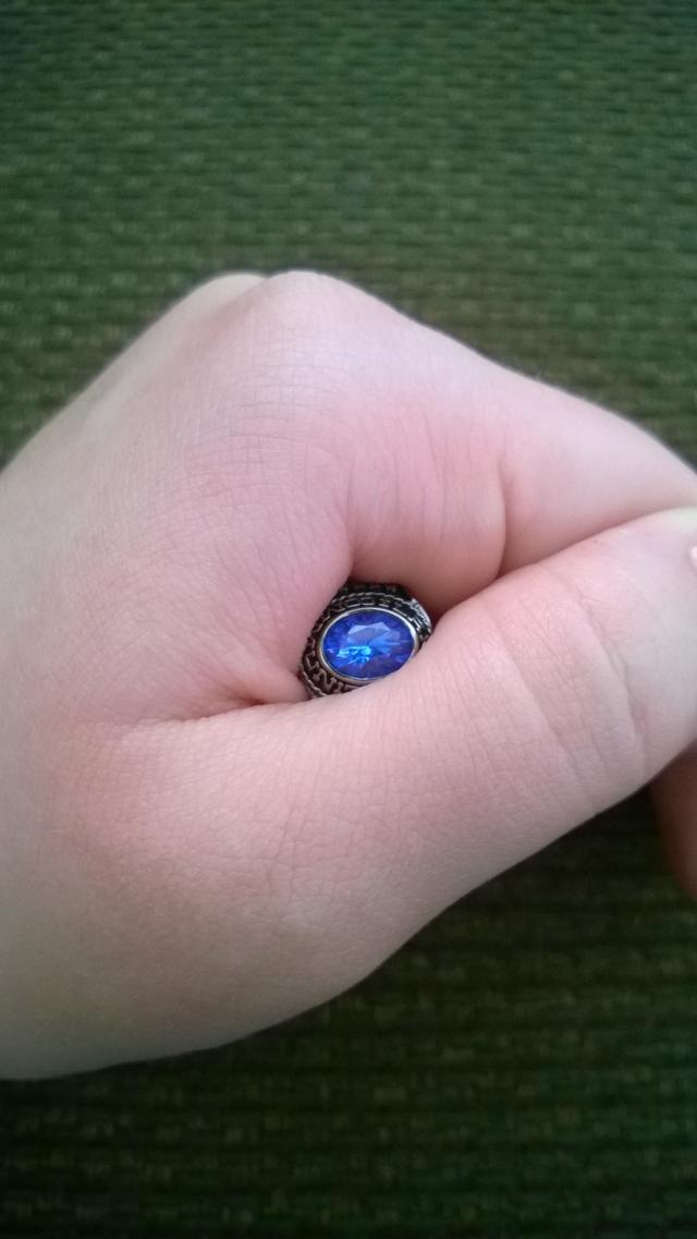 Would blue nail polish look bad if I wear a class ring with a blue stone?