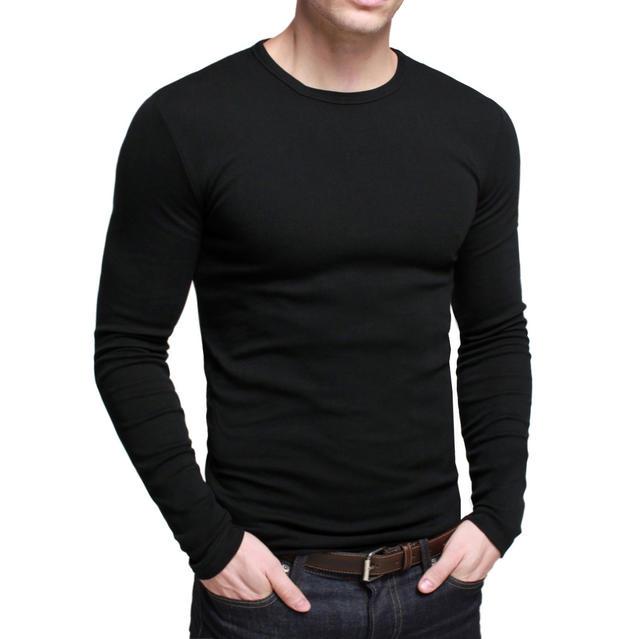 Do you like slim long sleeve shirts on guys?