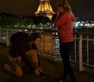 What do you think about marriage proposals that ended up in man tying his shoelaces?