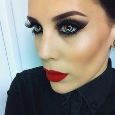 Is there such a thing as wearing too much make up, even if it's well done? Do guys find this look attractive?