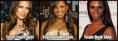 team Light, brown, or dark?