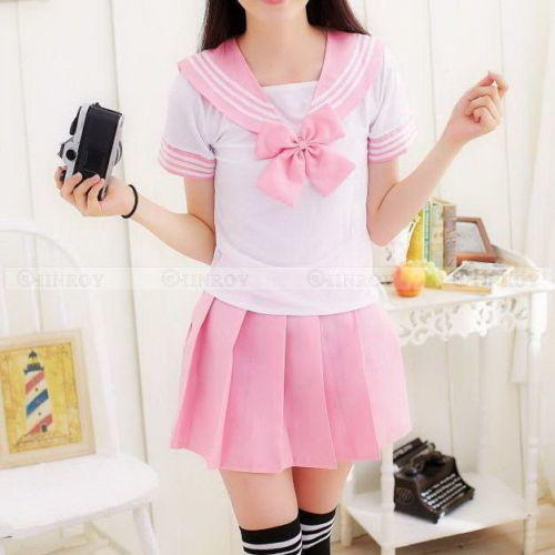 Japanese school girl outfit? Cute or not?
