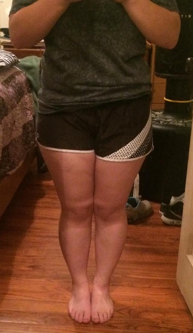 Are my legs just fat or do they have some muscle..? Be honest i know I'm overweight ?