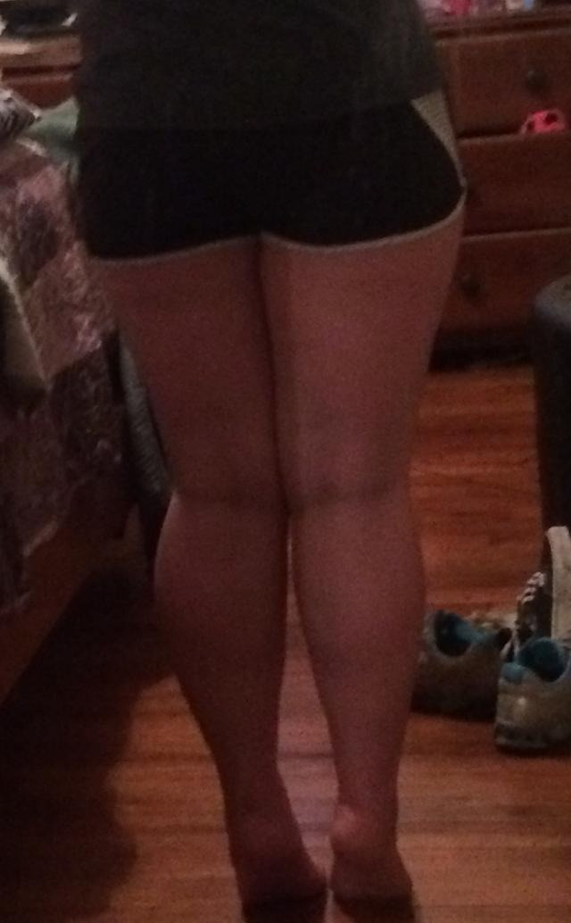 Are my legs just fat or do they have muscle? Q2 Be honest please?