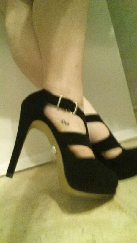 What's the tallest heel you've ever worn?