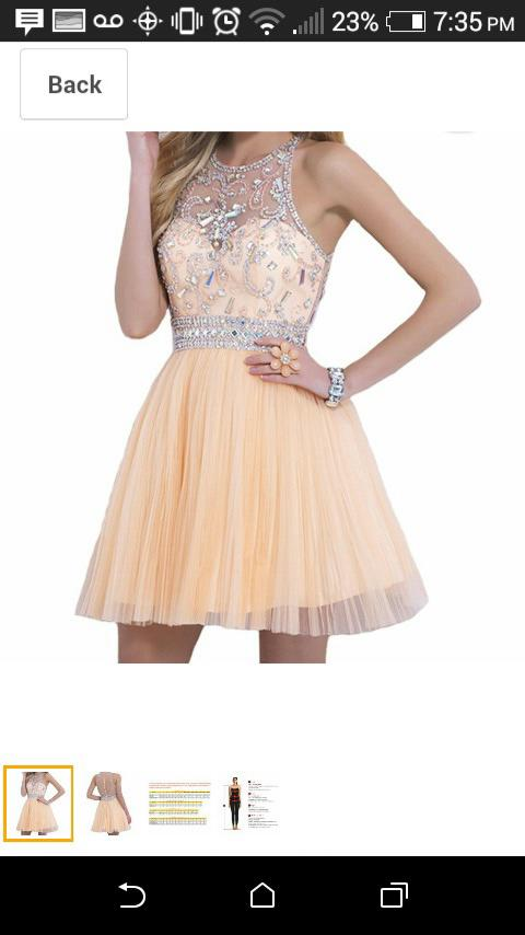 Do you think this dress is cute or pretty? If your ex wore it what would you think, please don't be mean?