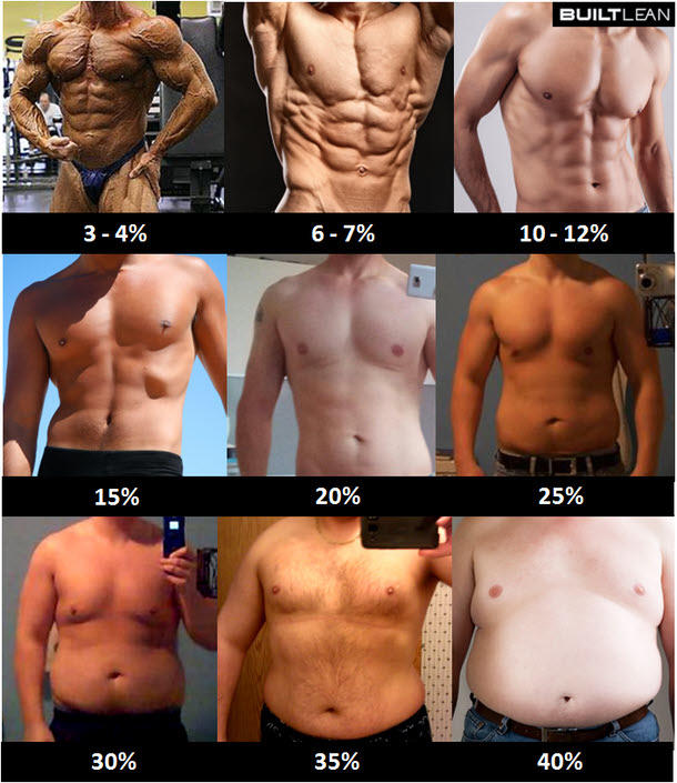 This is mainly for girls, how much body fat Is too much in the opposite gender?