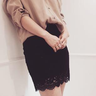 A lace skirt, too sexy and inappropriate to wear?