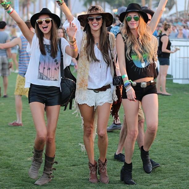 What do you think will be the hottest trends for Coachella fashion for 2015?
