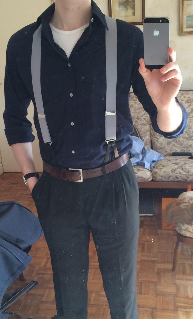 Girls, pulling off suspenders in a masculine, non-hipster way?