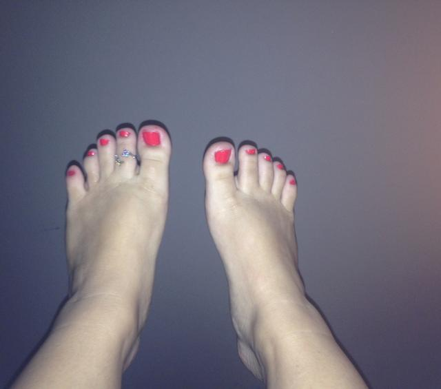 Why am I embarrassed of my feet? Is anyone else? Do mine look normal? See pic?