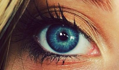 Who's eyes are nicer?