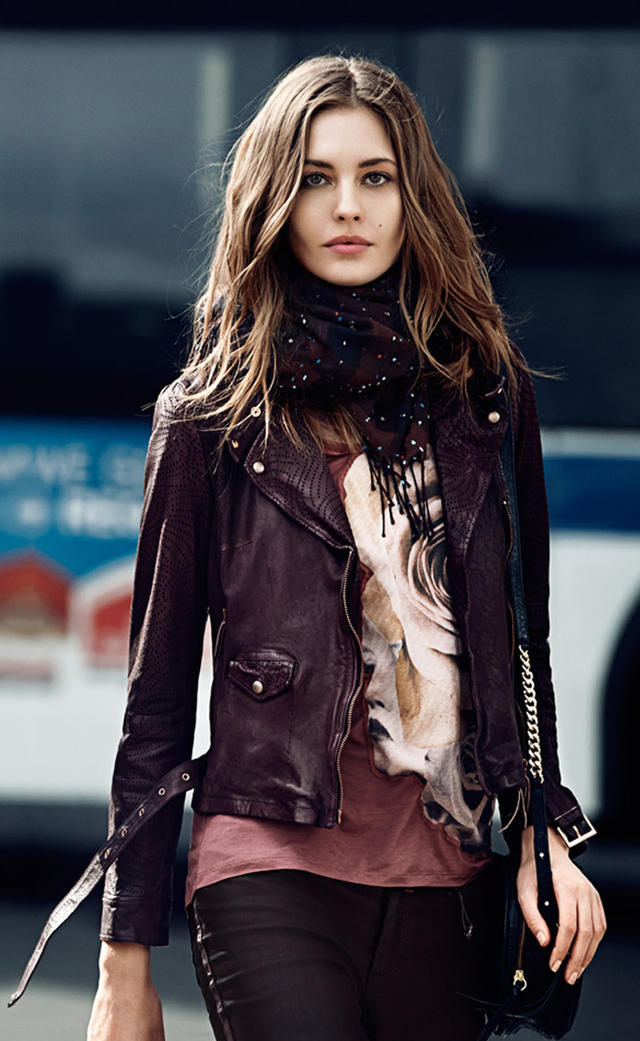 Do you own a leather jacket?