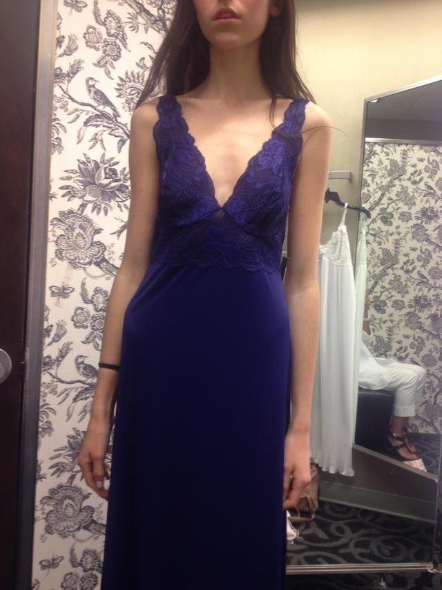 Does this dress look weird on me?