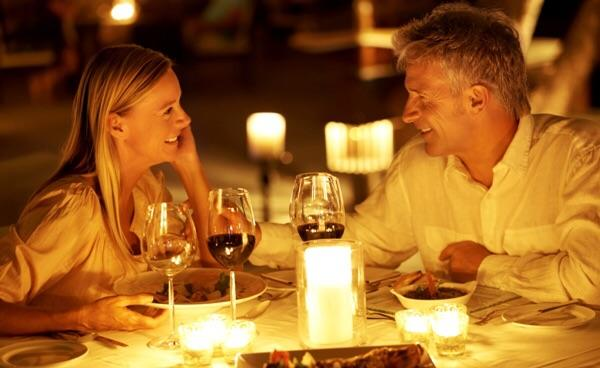 Name your idea of a romantic place to take someone on a first date?