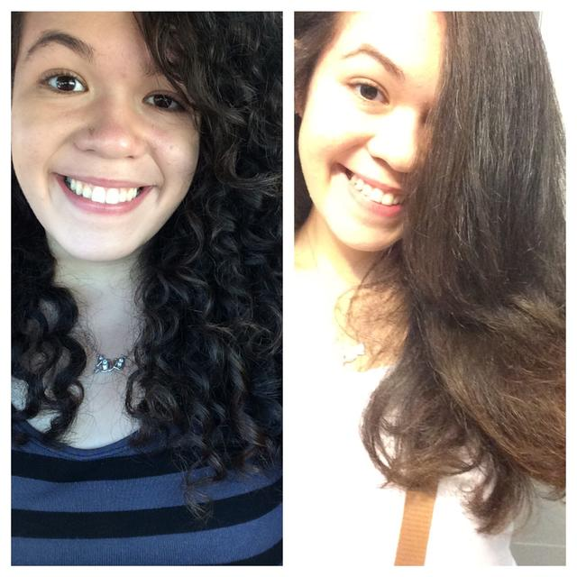 Does my hair look better curly or straight?