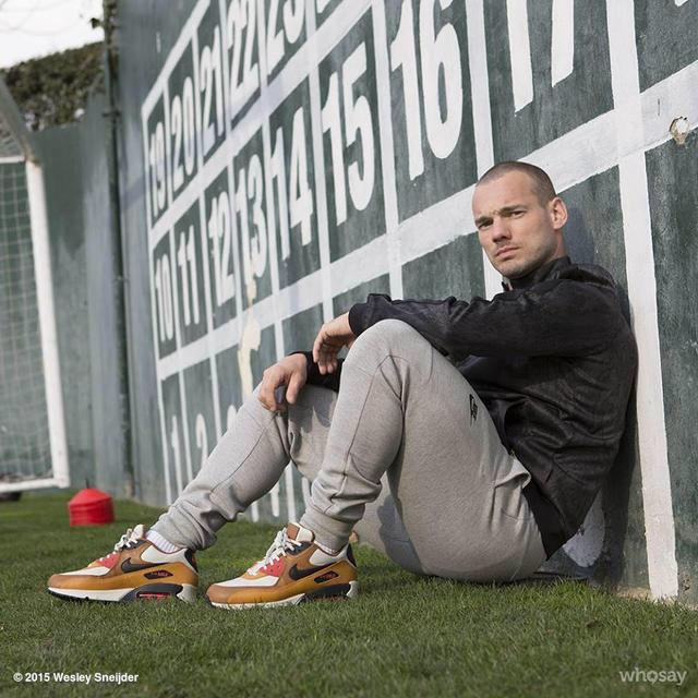 Do you find the footballer Wesley Sneijder too sexy?
