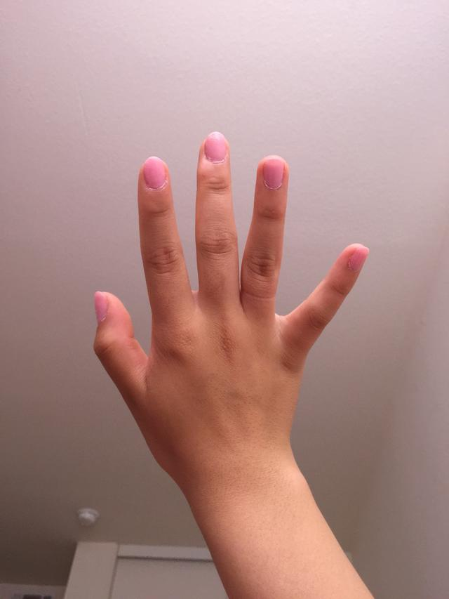 Are my hands too manly/childlike?