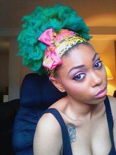 What colour do you think would be a good one for an afro?