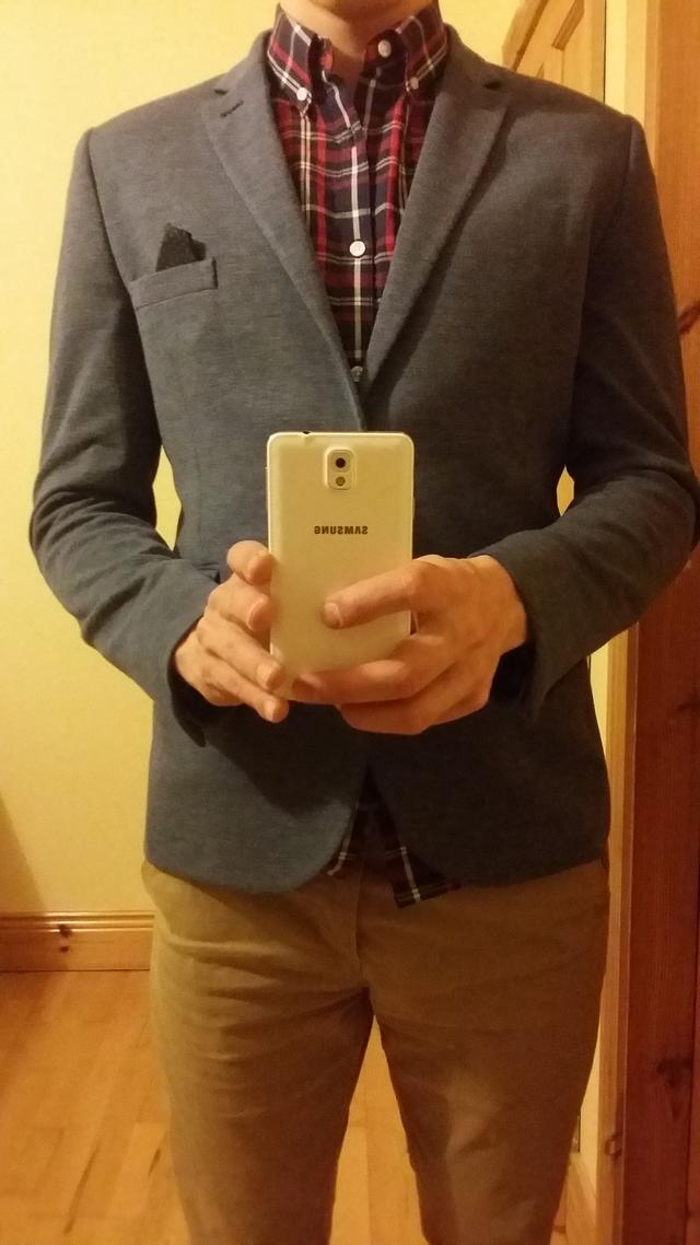 Is this shirt suitable with this jacket?