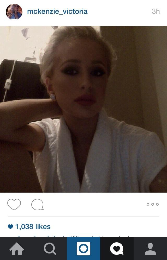 Does this girl look like marilyn monroe a bit to you?