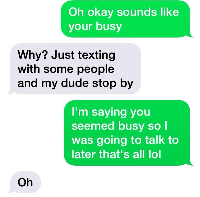 So mad at him, what should I do? I have been talking to this guy for two months now and I thought everything was fine until I texted him last night.