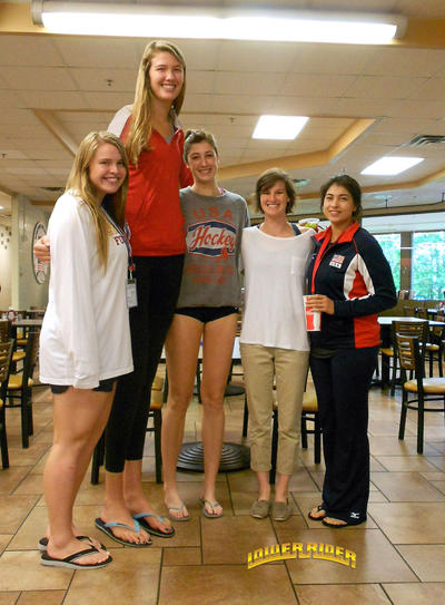perks of dating a tall girl