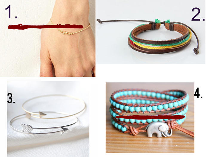 Girls, what bracelet would you buy?