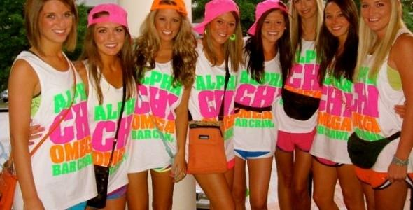Guys, hot or not: girls going to class in running shorts and t-shirts?