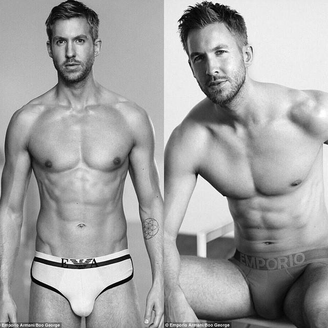 GAGers, rate this guy's (Calvin Harris) underwear?