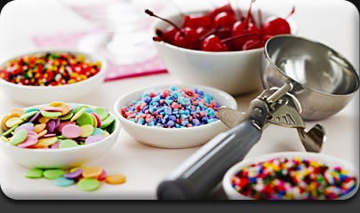 what is your favorite ice cream toppings?