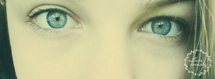 Blue- green eyes?