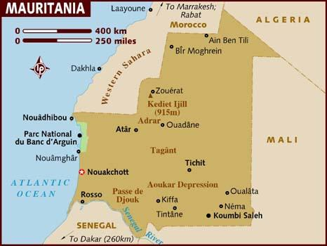 When you think of Mauritania, what first comes to mind?