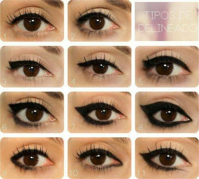 Guys, Which Eyeliner Style Do You Like To See On Girls? (choose one)?