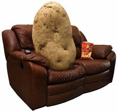 Have you ever just sat there in the couch?