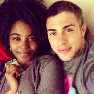 Do black girls looks better with white guys?
