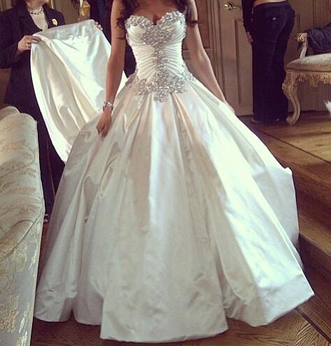 What do you think of these wedding dresses?