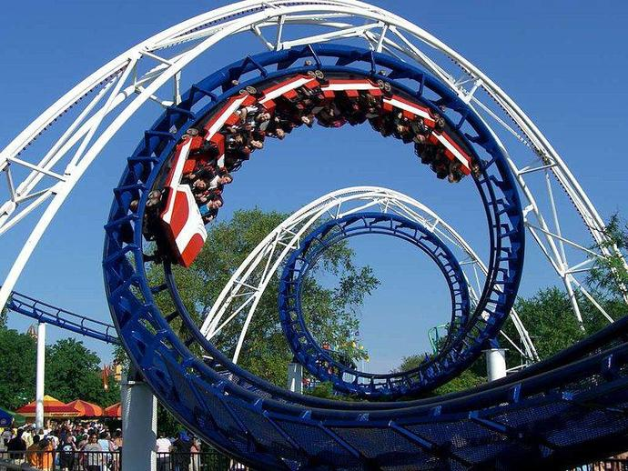 How old were you the first time you rode an upside down roller coaster?