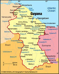 When you think of Guyana, what first comes to mind?