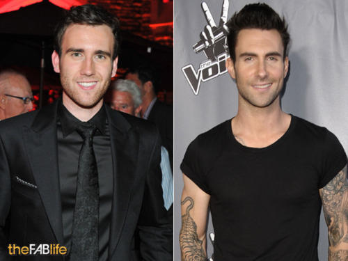 Am I the only one who noticed Matt Lewis and Adam Levine look a lot like each other?