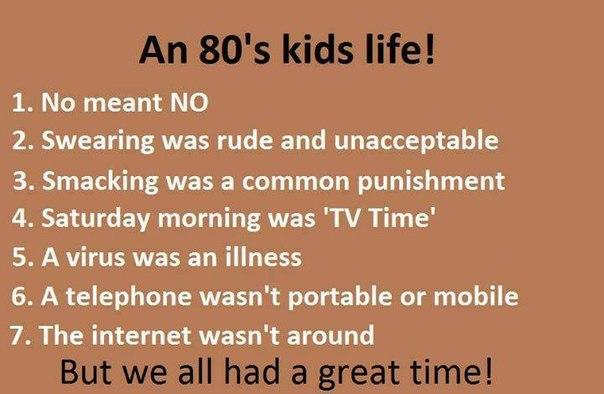 for the ones born int he 80's is this a truth or not??