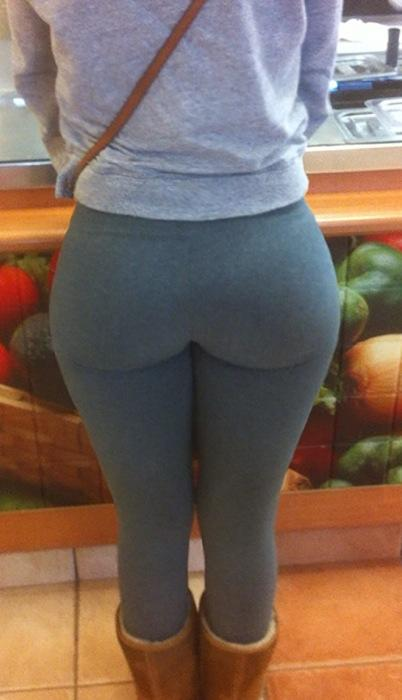 is it possible to get a butt like this by doing squats, running, climbing stars and butt exercises?