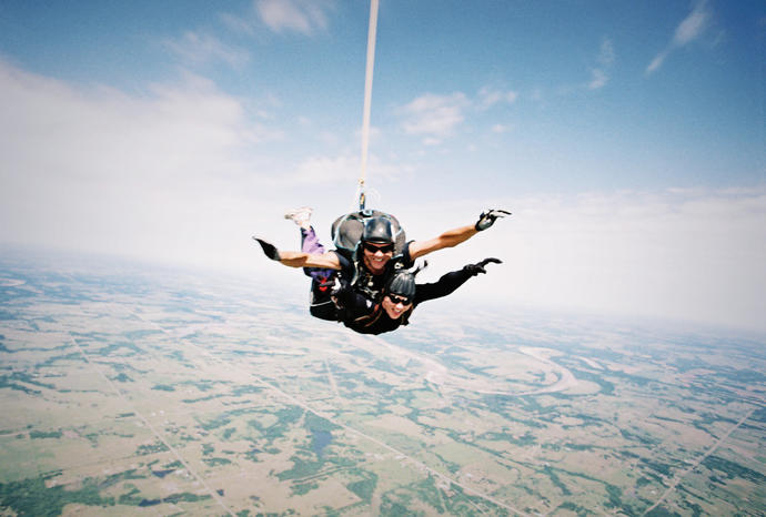 Who's an adrenaline junkie here? What have you done?