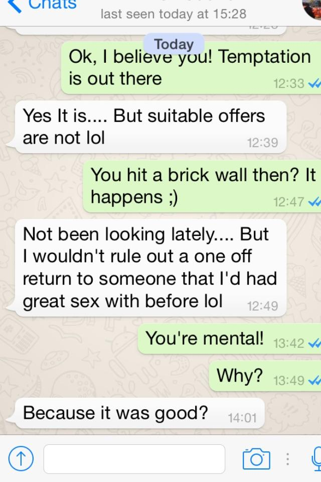 Ex from two year ago, suddenly reappears and texts me this. What do you make of it/him?