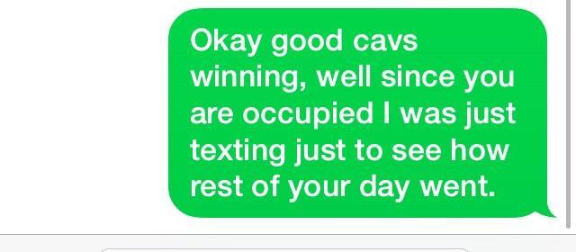 should I text him back?