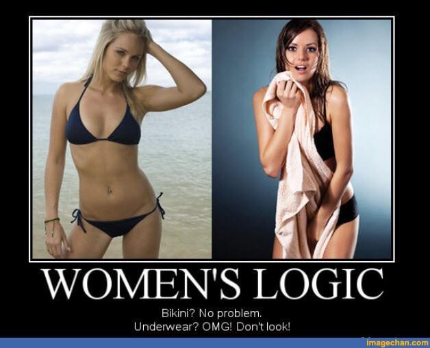 Aren't bikinis the same thing as underwear?
