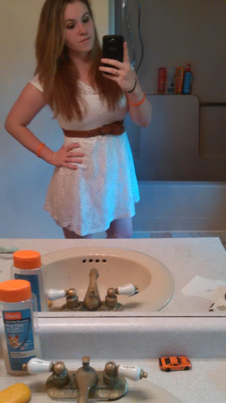 Graduation tonight. Which dress?