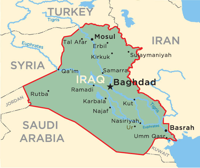 When you think of Iraq, what first comes to mind?