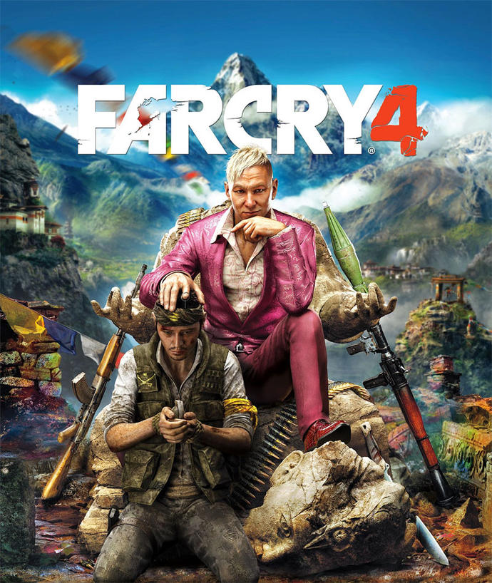 What is your opinion on the cover of 'Far Cry 4'?