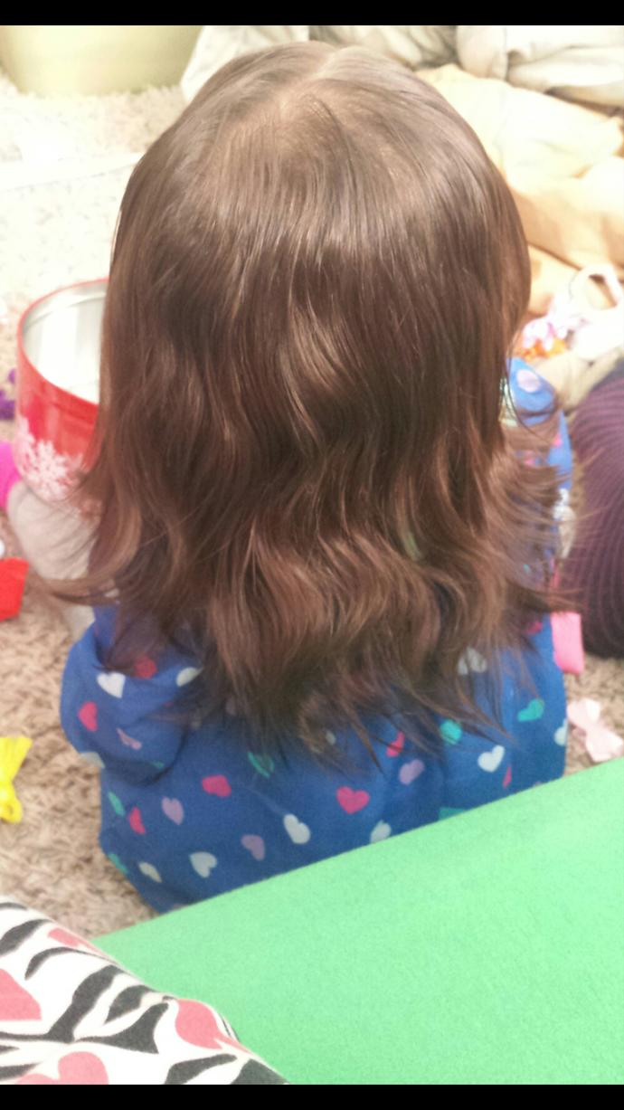 Would you cut your child's hair if it looked like this?